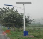 路燈桿工程案例