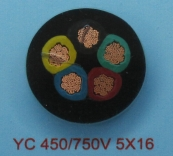 YC 450/750V 5X16