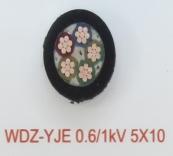 WDZ-YJE 0.6/1kV 5X10