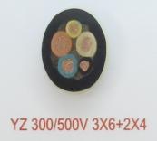 YZ 300/500V 3X6+2X4