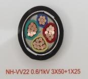 NH-VV22 0.6/1kV 3X50+1X25