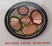NH-YJV22 0.6/1kV 3X185+2X95