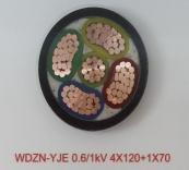 WDZN-YJE 0.6/1kV 4X120+1X70