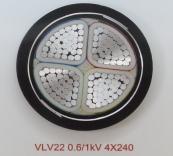 VLV22 0.6/1kV 4X240