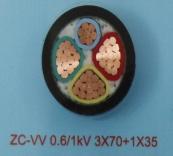 黔西南ZC-VV 0.6/1kV 3X70+1X35