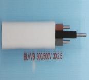 BLVV 300/500V 3X2.5